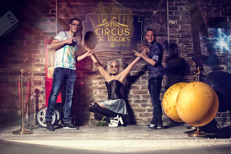 Circus of Freaks Dominic Freudensprung Max Schnapsbrenner
