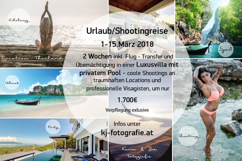 Thailandreise Shooting