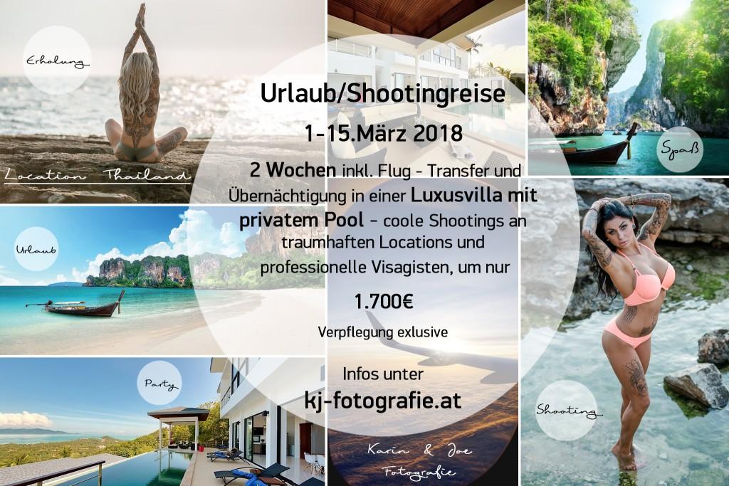 Thailandreise Shooting